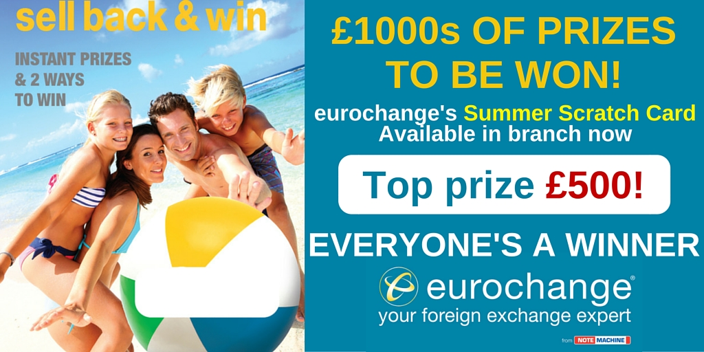 eurochange 2016 summer scratch card Twitter