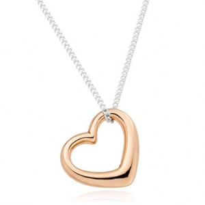 Nothing says I love you like a classic piece of jewellery and Beaverbrooks has a stunning range of Valentine's gift (and engagement rings if you plan on going all out!). Our favourite is this silver rose gold plated heart pendant which is simple and delicate and priced at just £30.