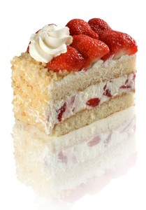 Pop in to our Patisserie Valerie and get something sweet for the one you're sweet on! We struggled to choose a favourite as everything is so delicious but this Strawberry Gateau with vanilla sponge, whipped cream and fresh strawberries is the perfect Valentine's treat.